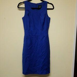 J. Crew Suiting Sleeveless Midi Dress,sz 0